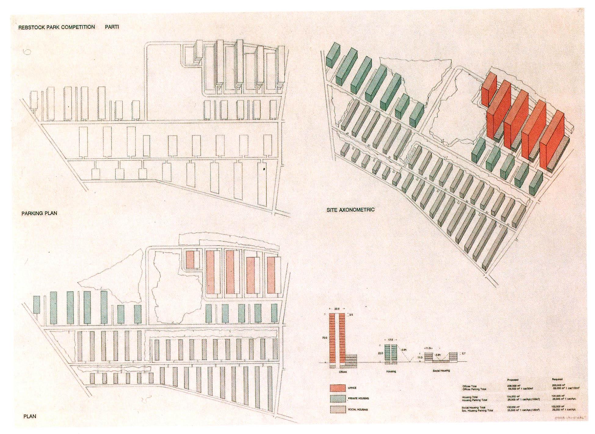 Die Frankfurter Zeilenbauweise als weitere Entwurfsgrundlage
