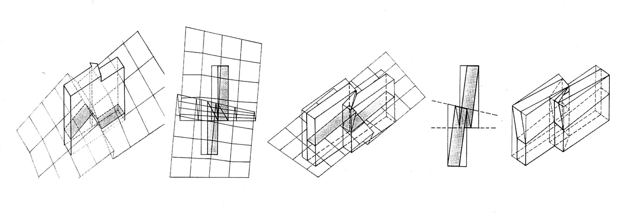 Verfaltungsprozess der Gebäude