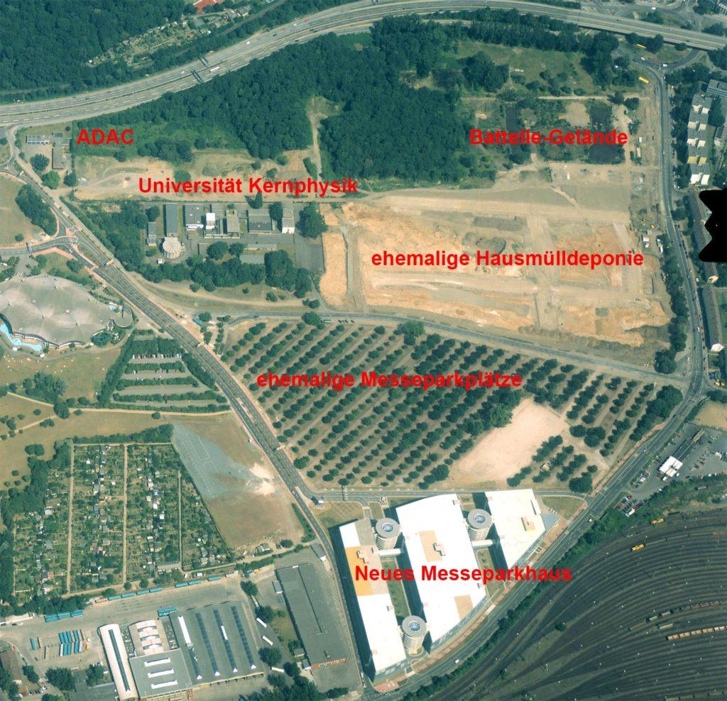 Die Vorentwicklungsprojekte am Rebstock bis 2001